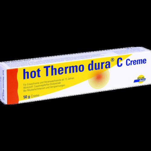 Verpackungsbild(Packshot) von HOT THERMO dura C Creme