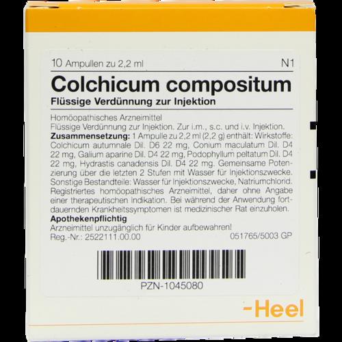 Verpackungsbild(Packshot) von COLCHICUM COMPOSITUM Ampullen