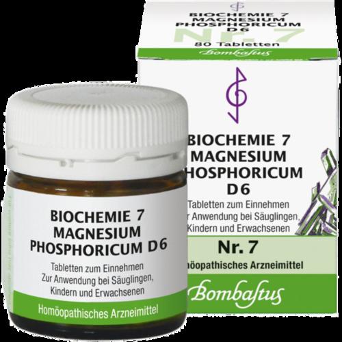 Verpackungsbild(Packshot) von BIOCHEMIE 7 Magnesium phosphoricum D 6 Tabletten