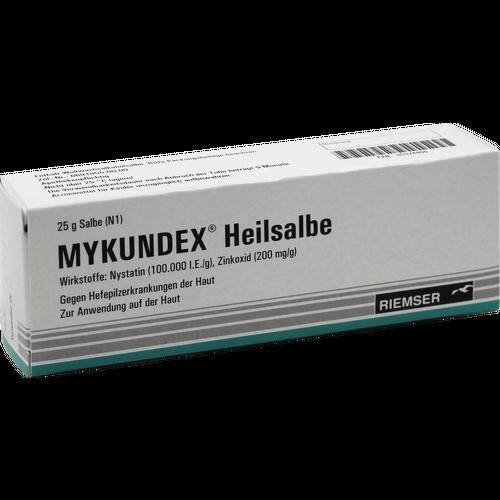 Verpackungsbild(Packshot) von MYKUNDEX Heilsalbe