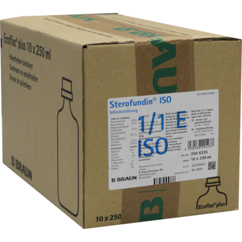 Verpackungsbild(Packshot) von STEROFUNDIN ISO Ecoflac Plus Infusionslösung