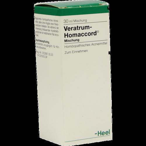 Verpackungsbild(Packshot) von VERATRUM HOMACCORD Tropfen
