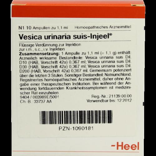 Verpackungsbild(Packshot) von VESICA URINARIA suis-Injeel Ampullen