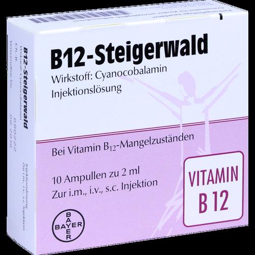 Verpackungsbild(Packshot) von B12 STEIGERWALD Injektionslösung