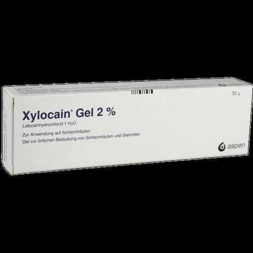 Verpackungsbild(Packshot) von XYLOCAIN GEL 2%