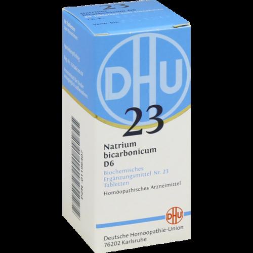 Verpackungsbild(Packshot) von BIOCHEMIE DHU 23 Natrium bicarbonicum D 6 Tabl.