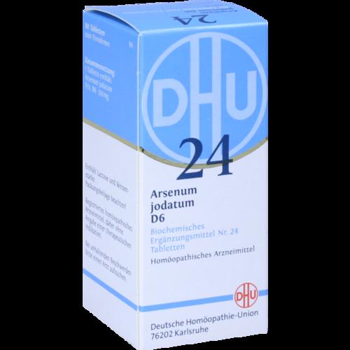 Verpackungsbild(Packshot) von BIOCHEMIE DHU 24 Arsenum jodatum D 6 Tabletten
