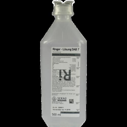 Verpackungsbild(Packshot) von RINGER LÖSUNG DAB 7 Plastik