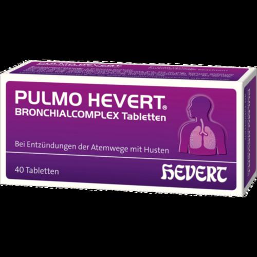 Verpackungsbild(Packshot) von PULMO HEVERT Bronchialcomplex Tabletten