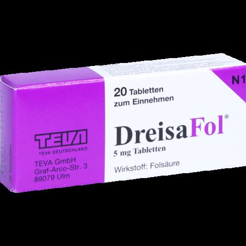 Verpackungsbild(Packshot) von DREISAFOL Tabletten