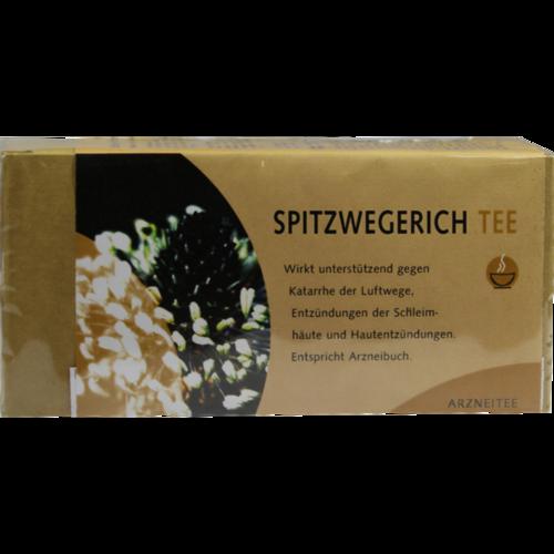 Verpackungsbild(Packshot) von SPITZWEGERICHTEE Filterbeutel