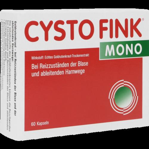 Verpackungsbild(Packshot) von CYSTO FINK mono Kapseln