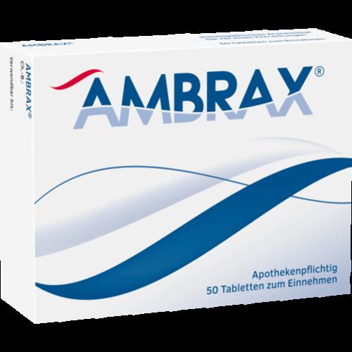 Verpackungsbild(Packshot) von AMBRAX Tabletten