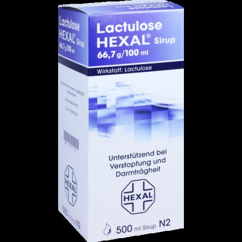 Verpackungsbild(Packshot) von LACTULOSE Hexal Sirup
