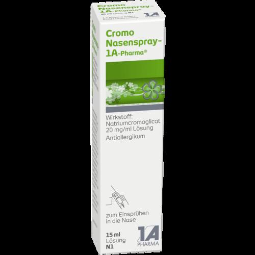 Verpackungsbild(Packshot) von CROMO NASENSPRAY-1A Pharma