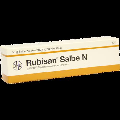 Verpackungsbild(Packshot) von RUBISAN Salbe N
