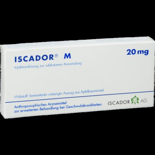 Verpackungsbild(Packshot) von ISCADOR M 20 mg Injektionslösung