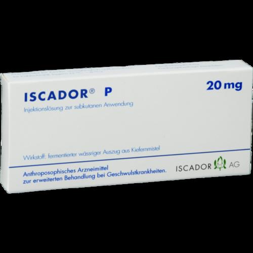 Verpackungsbild(Packshot) von ISCADOR P 20 mg Injektionslösung