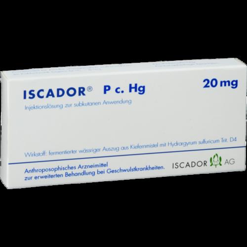 Verpackungsbild(Packshot) von ISCADOR P c.Hg 20 mg Injektionslösung