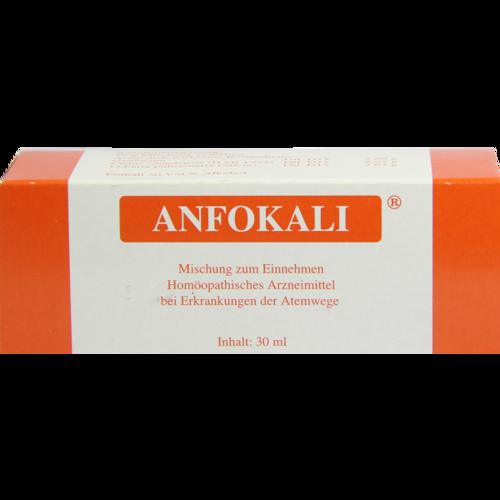 Verpackungsbild(Packshot) von ANFOKALI Tropfen