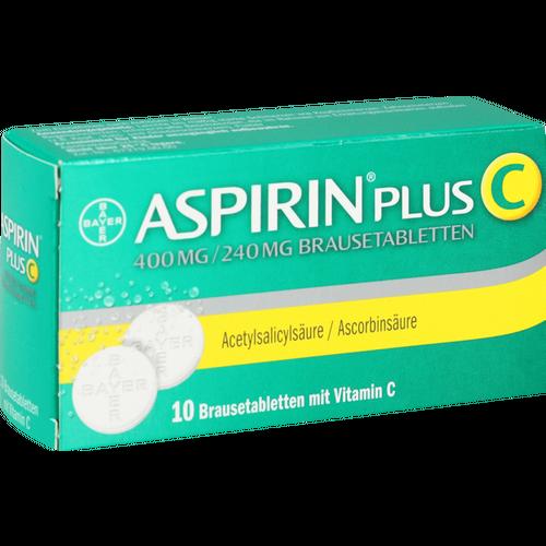 Verpackungsbild(Packshot) von ASPIRIN plus C Brausetabletten