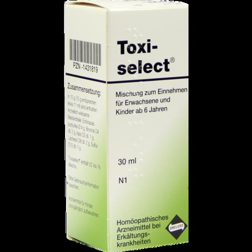 Verpackungsbild(Packshot) von TOXISELECT Tropfen