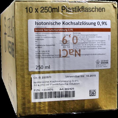 Verpackungsbild(Packshot) von ISOTONISCHE Kochsalzlösung 0,9% Plastik Inf.-Lsg.