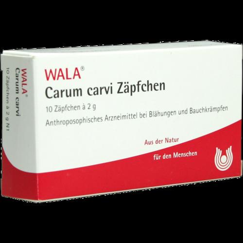 Verpackungsbild(Packshot) von CARUM CARVI Zäpfchen