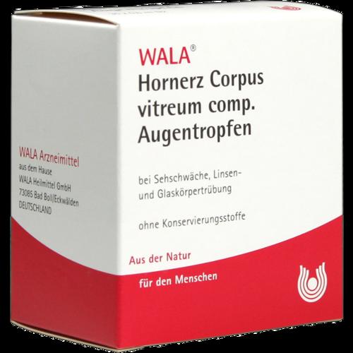 Verpackungsbild(Packshot) von HORNERZ/Corpus vitreum comp.Augentropfen