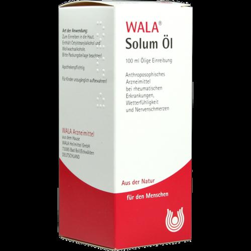 Verpackungsbild(Packshot) von SOLUM Öl