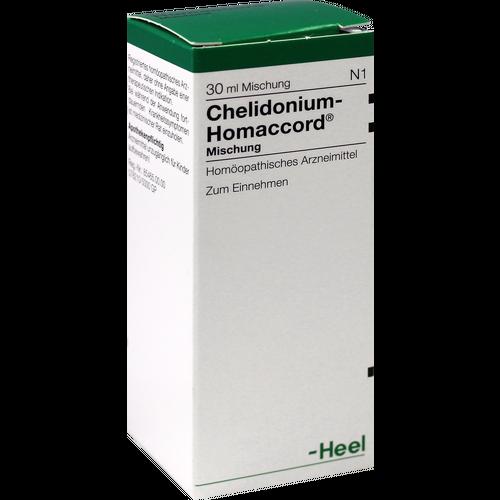Verpackungsbild(Packshot) von CHELIDONIUM-HOMACCORD Tropfen