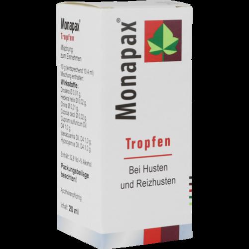 Verpackungsbild(Packshot) von MONAPAX Tropfen