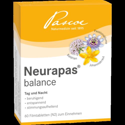 Verpackungsbild(Packshot) von NEURAPAS Balance Filmtabletten