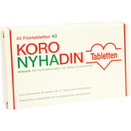 Verpackungsbild(Packshot) von KORO NYHADIN Filmtabletten
