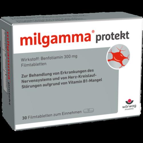 Verpackungsbild(Packshot) von MILGAMMA protekt Filmtabletten