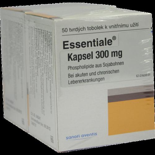 Verpackungsbild(Packshot) von ESSENTIALE Kapseln 300 mg