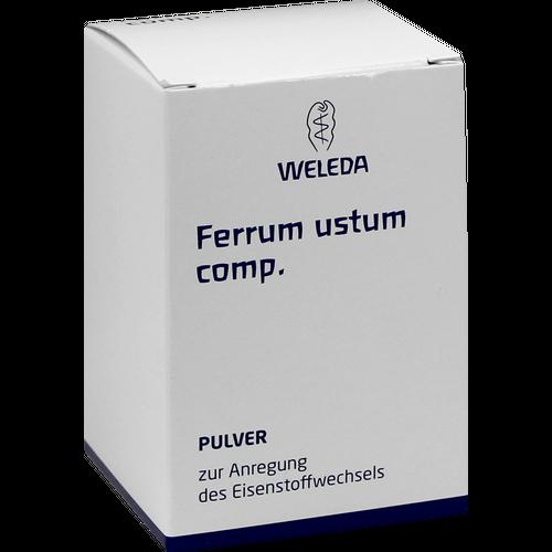 Verpackungsbild(Packshot) von FERRUM USTUM comp.Pulver