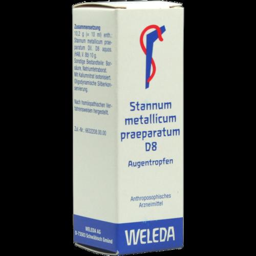 Verpackungsbild(Packshot) von STANNUM METALLICUM praeparatum D 8 Augentropfen