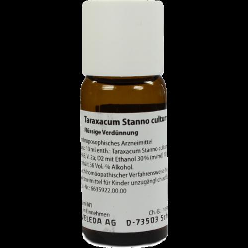 Verpackungsbild(Packshot) von TARAXACUM STANNO cultum D 2 Dilution