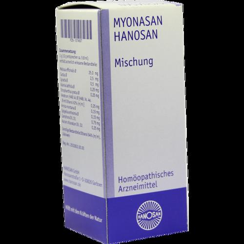 Verpackungsbild(Packshot) von MYONASAN Lösung
