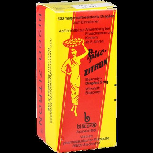 Verpackungsbild(Packshot) von BISCO ZITRON Dragees