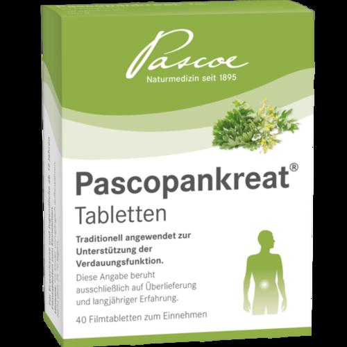 Verpackungsbild(Packshot) von PASCOPANKREAT Tabletten