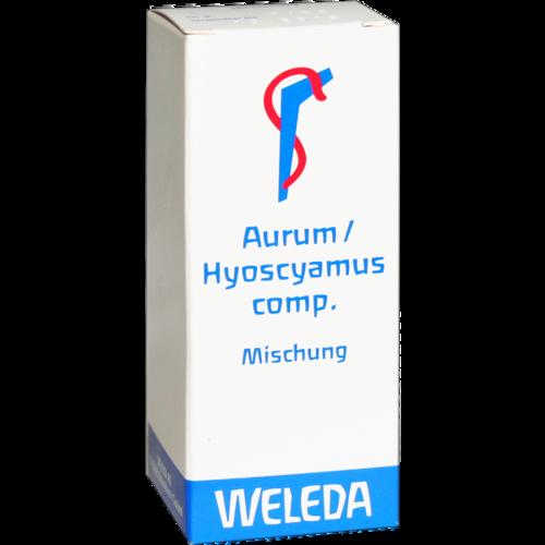 Verpackungsbild(Packshot) von AURUM/HYOSCYAMUS comp.Mischung