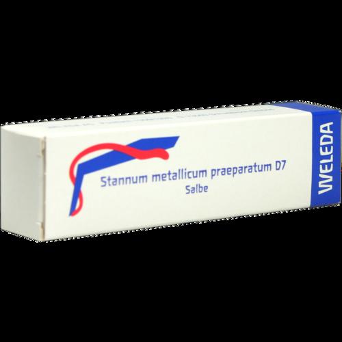 Verpackungsbild(Packshot) von STANNUM METALLICUM praeparatum D 7 Salbe