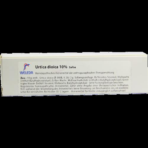 Verpackungsbild(Packshot) von URTICA DIOICA SALBE 10%