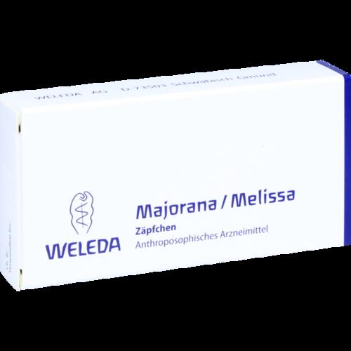 Verpackungsbild(Packshot) von MAJORANA/MELISSA Suppositorien