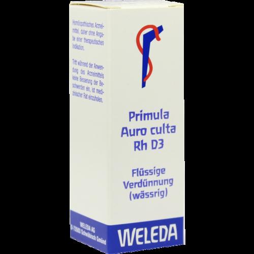 Verpackungsbild(Packshot) von PRIMULA AURO culta RH D 3 Dilution