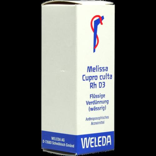 Verpackungsbild(Packshot) von MELISSA CUPRO culta RH D 3 Dilution
