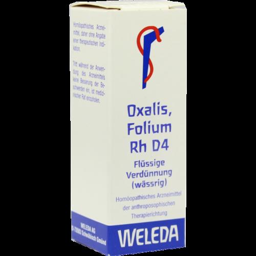 Verpackungsbild(Packshot) von OXALIS FOLIUM Rh D 4 Dilution
