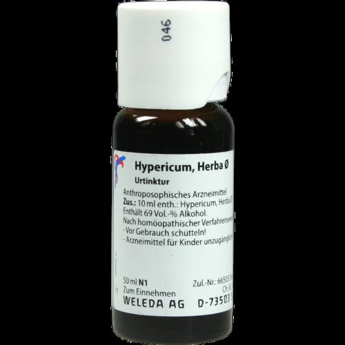 Verpackungsbild(Packshot) von HYPERICUM HERBA Urtinktur